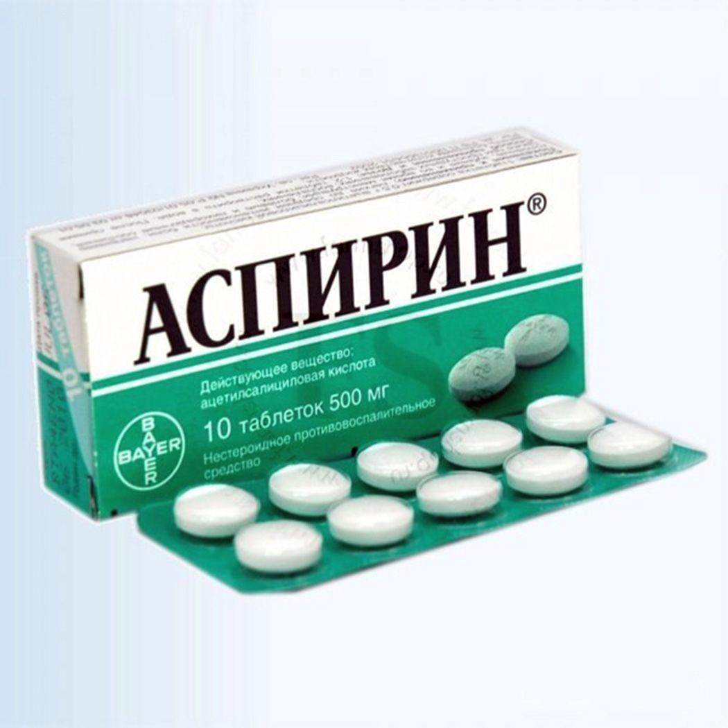 Аспирин для профилактики тромбоза инфаркта и инсульта у больного